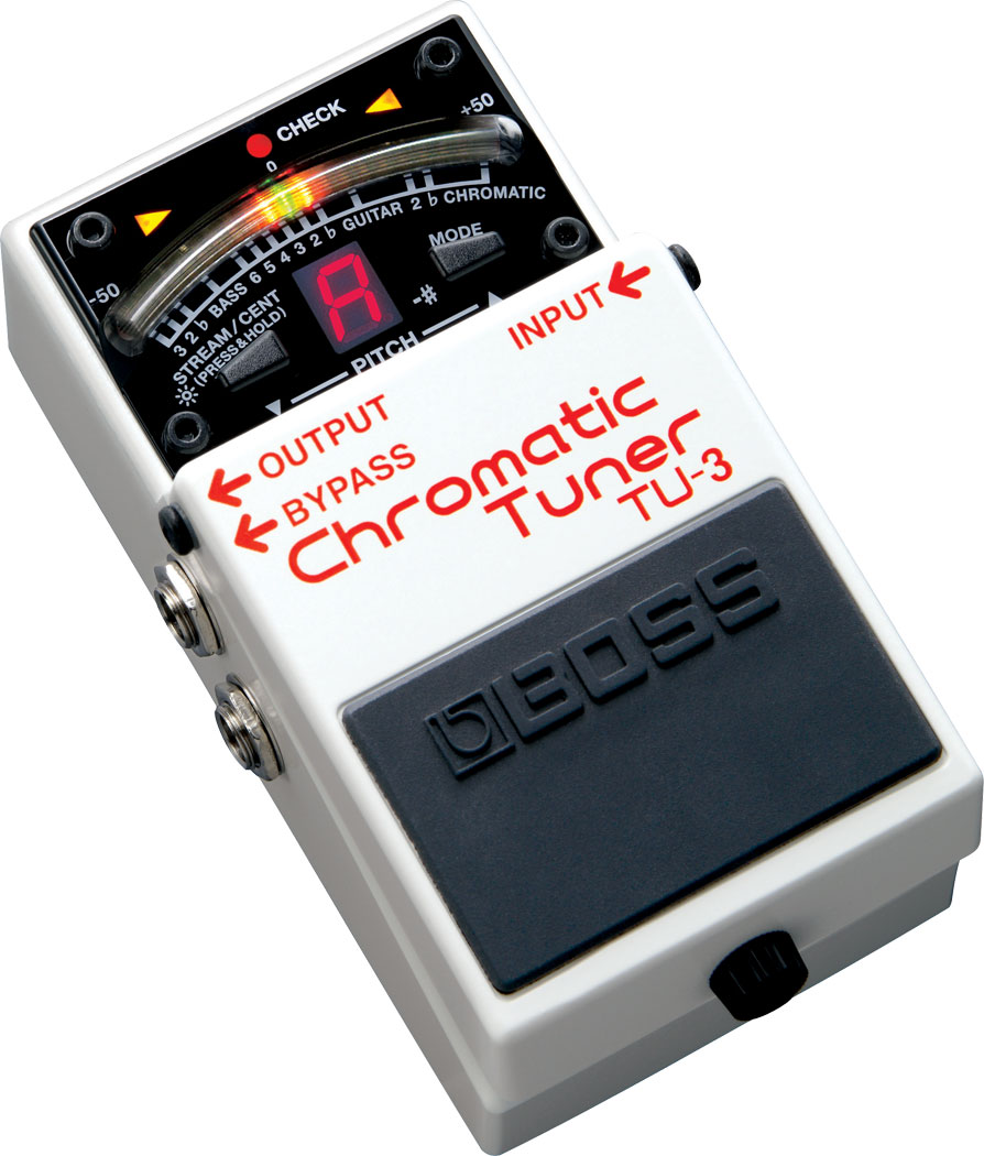 BOSS TU-3 CHROMATIC TUNER ボス サブ画像1