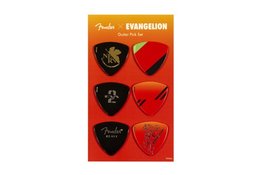 EVANGELION ASUKA PICK SET