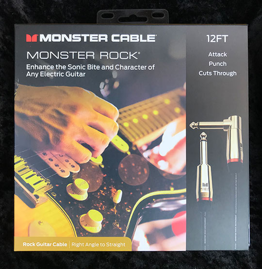 MONSTER CABLE 【M ROCK2-12A】直-L 12ft /約3.6m