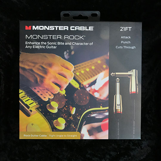 MONSTER CABLE【M ROCK2-21A】 直-L 21ft /約6.4m