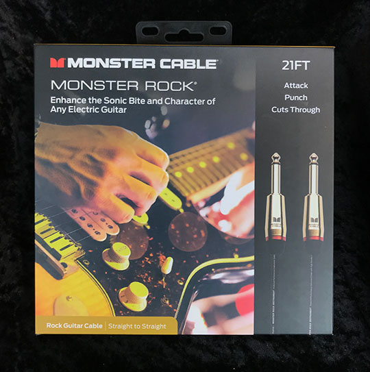 MONSTER CABLE【M ROCK2-21】 直-直 21ft /約6.4m
