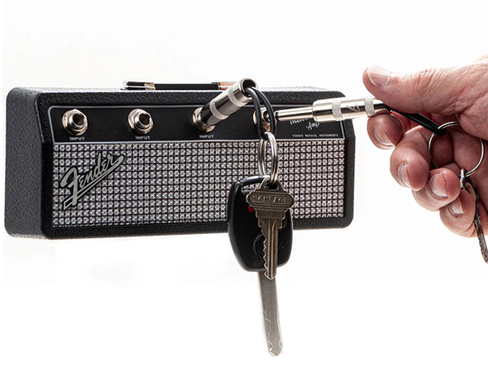 Pluginz Fender Mini Twin Amp Jack Rack with 4 keychains プラグインツ サブ画像2