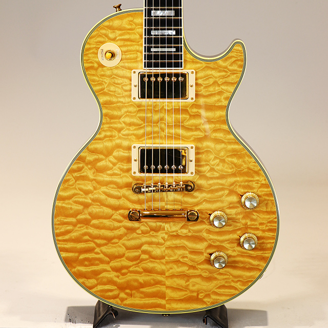 1968 Les Paul Custom Quilt Top Natural