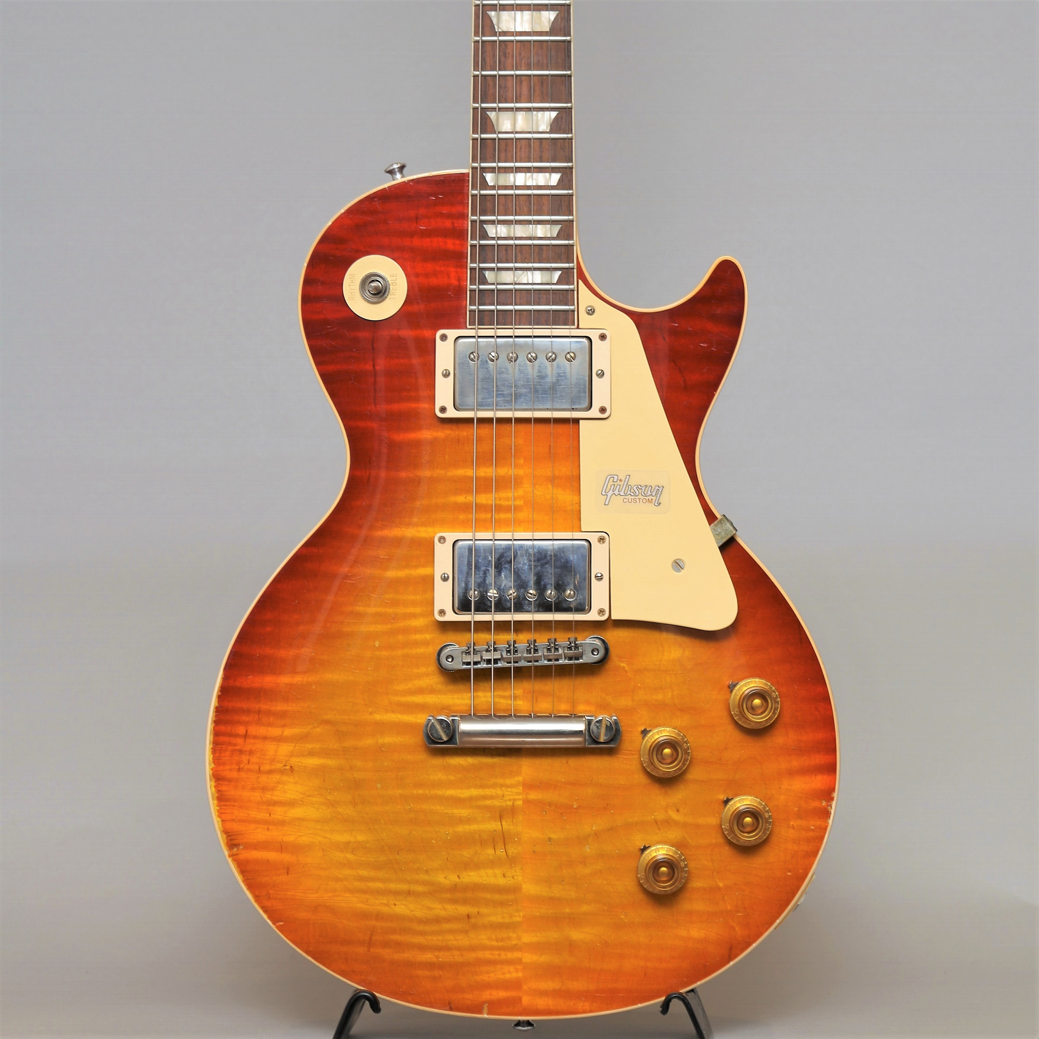 60th Anniversary 1959 Les Paul Standard Orange Sunset Fade Murphy Aged【S/N:992289】