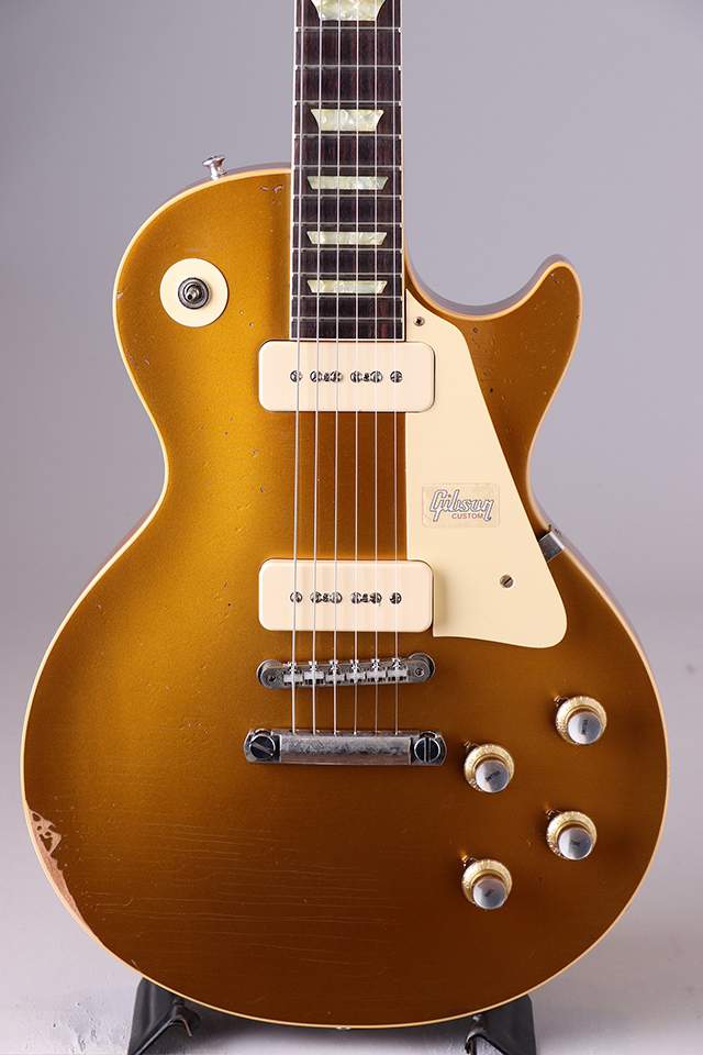 "1968 Les Paul Standard Gold Top P-90' ""In House"" Heavy Aged S/N:084898 2018"