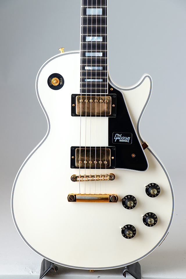 Limited Run 1968 Les Paul Custom VOS Polaris White S/N:084398