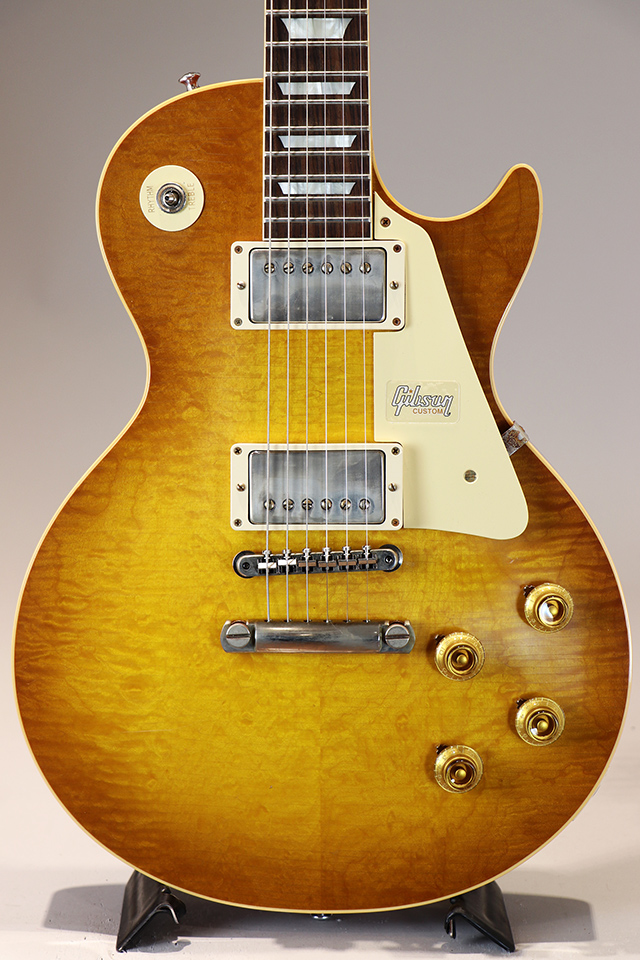 Historic Collection 1959 Les Paul Hand Select Top Brown Lemon Lightly Aged S/N:983711