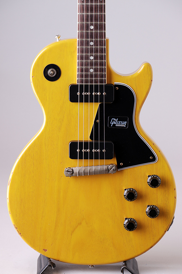 Japan Limited 1957 Les Paul Special Single Cut Bright TV Yellow Slight Light Aged S/N:78818