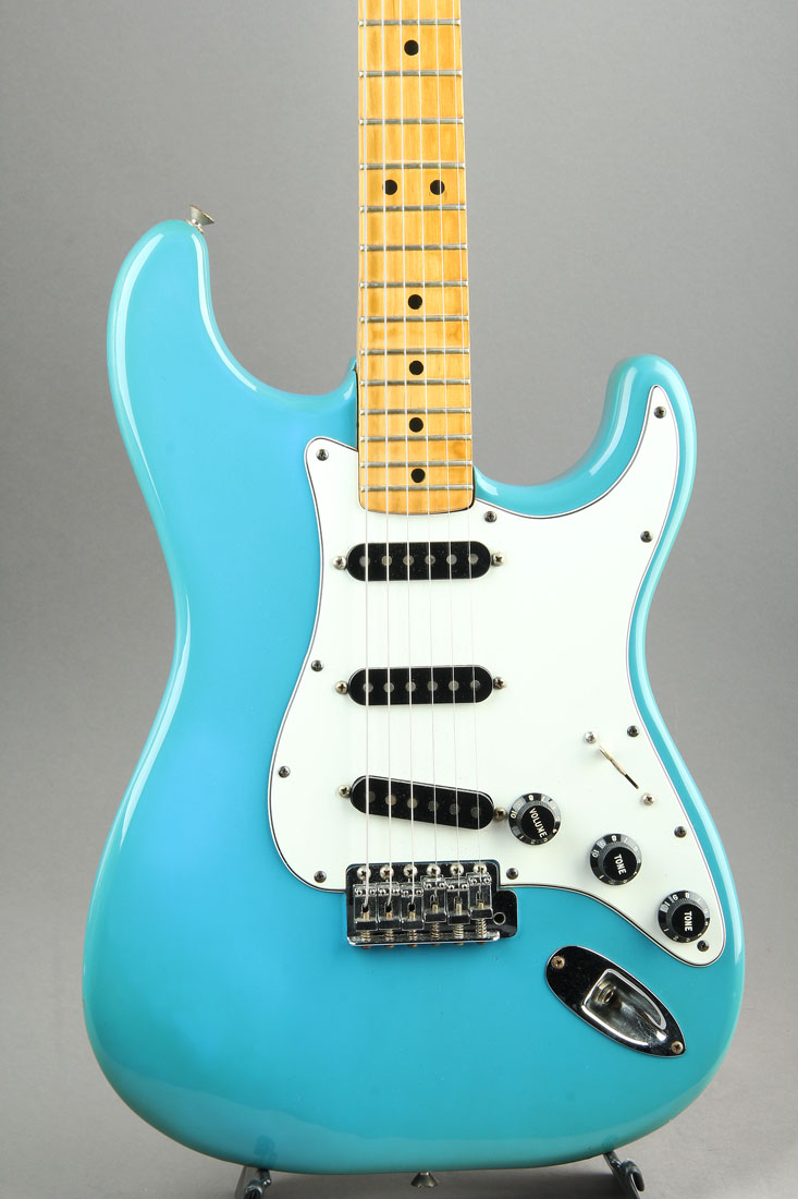 1981 Stratocaster International Color Series / Maui Blue