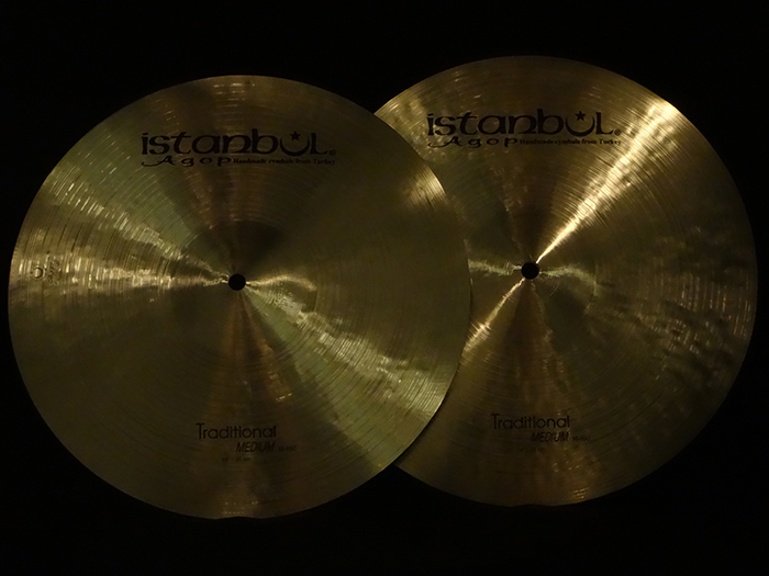 "【新品30%OFF!】Traditional Series 14"" Medium Hi hats 997g,1086g"