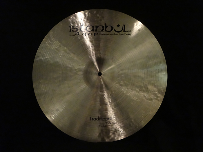 "【選定シンバル・新品30%OFF!】Traditional Series 18"" Thin Crash 1336g"