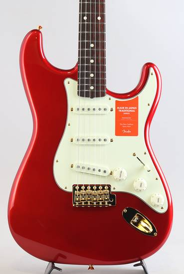 Made In Japan Traditional 60s Stratocaster Gold Hardware/Candy Apple Red