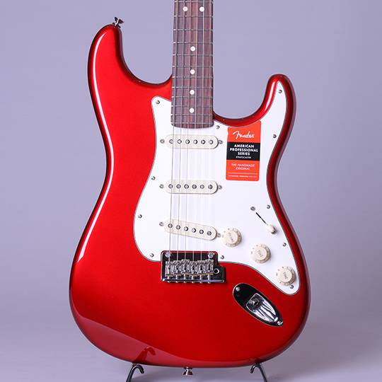 American Professional Stratocaster Candy Apple Red/R【S/N:US19031370】