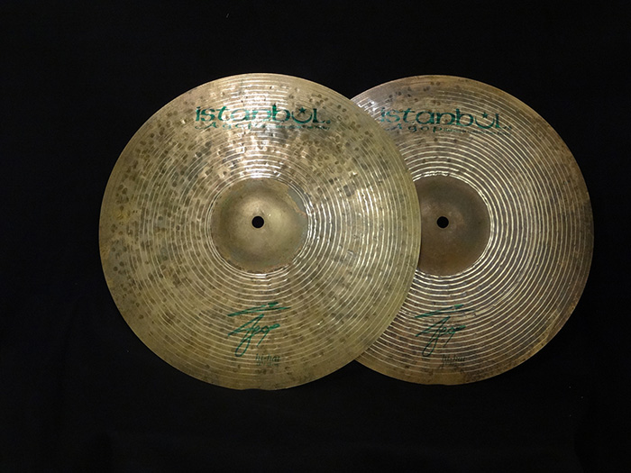 "Agop Signature Series 14"" Hihats pair 819g&901g"
