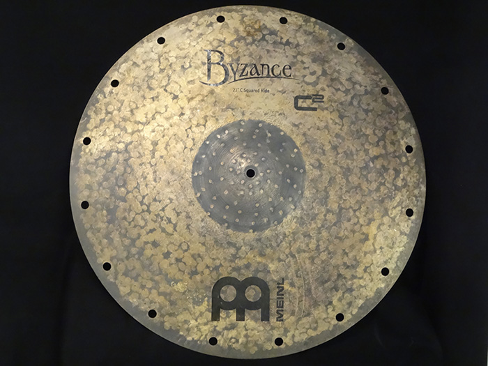 "Byzance Vintage 21"" C Square Ride  B21C2R  Chris Coleman's Signature Ride"