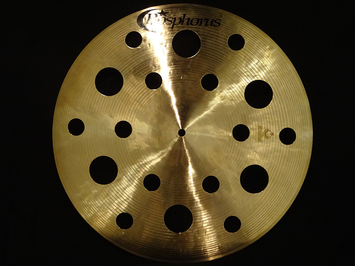 "【新品特価30%OFF!】Traditional Series 18"" 穴あきCrash 18holes 1263g"
