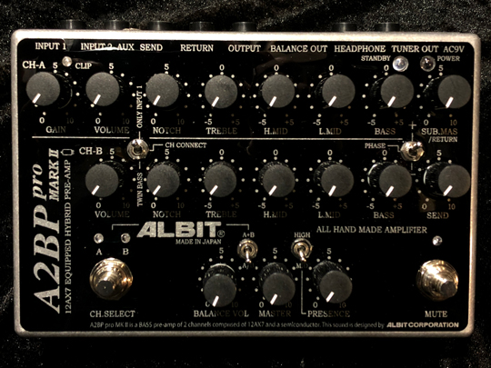 ALBIT A2BP pro MARK II BASS PRE-AMP アルビット サブ画像1