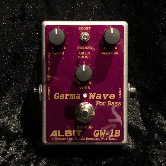 ALBIT GERMANIUM DIODE BOOSTER FOR BASS / GW-1B アルビット サブ画像1