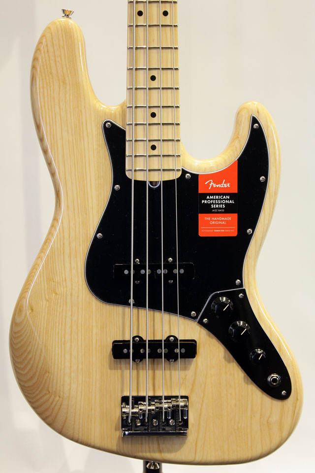 American Professional Jazz Bass Ash (NAT)