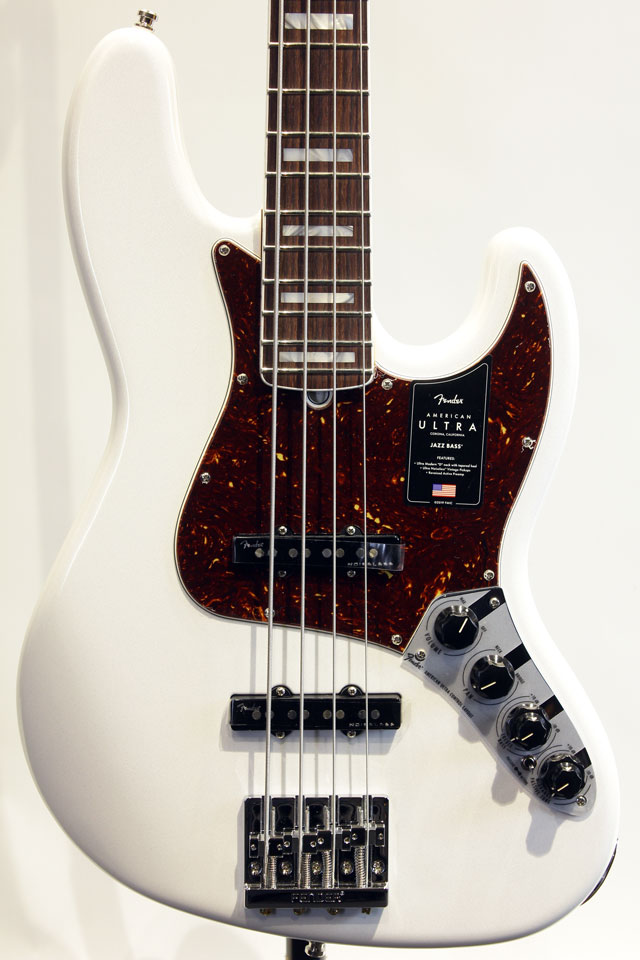 AMERICAN ULTRA JAZZ BASS (Arctic Pearl)