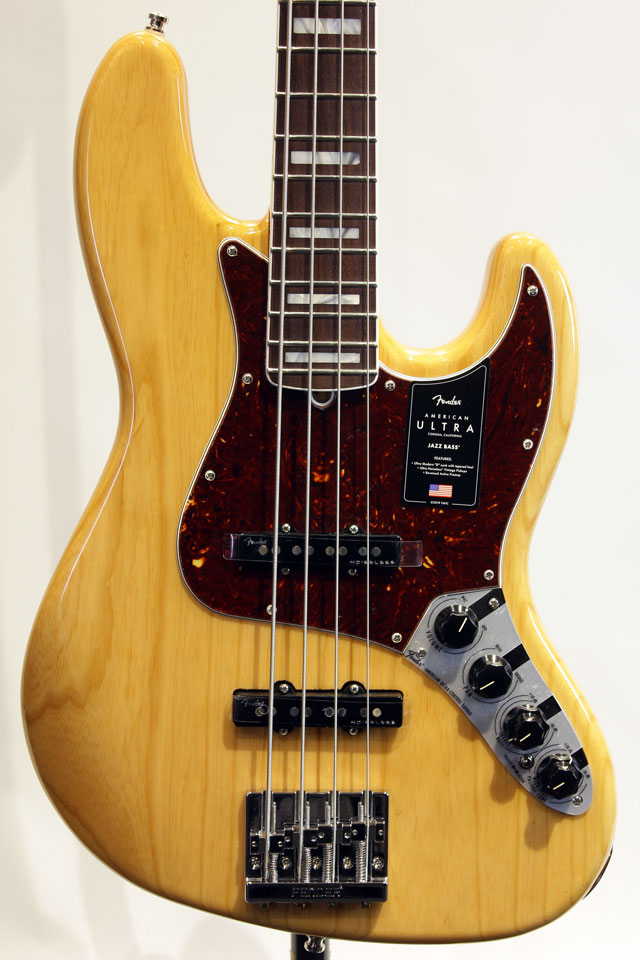AMERICAN ULTRA JAZZ BASS (Aged Natural)