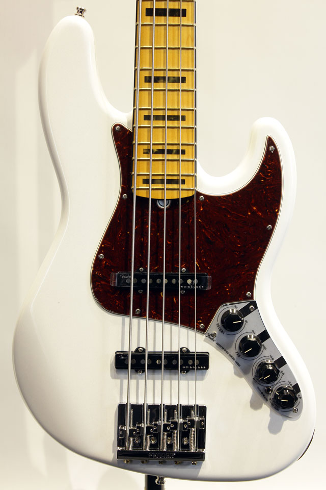 AMERICAN ULTRA JAZZ BASS V (Arctic Pearl)