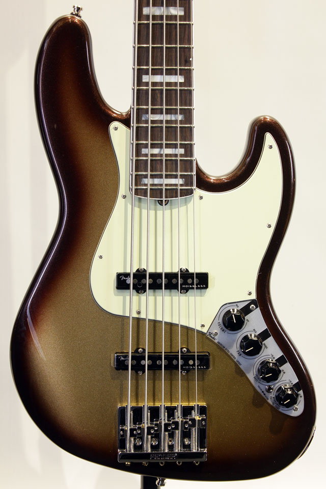 AMERICAN ULTRA JAZZ BASS V (Mocha Burst)