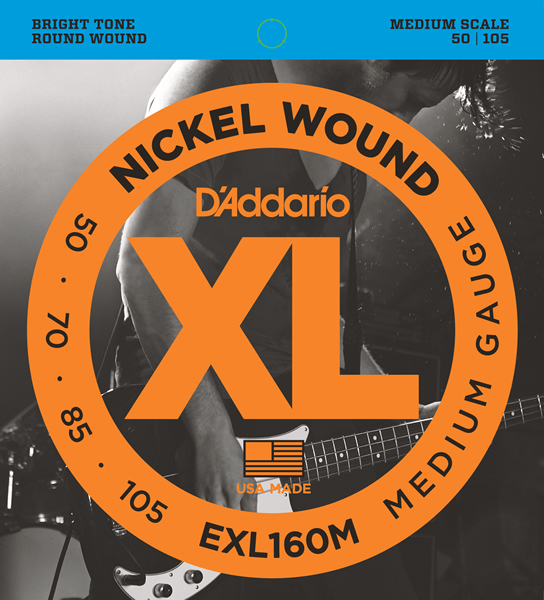 EXL160M [Nickel Wound 50-105]