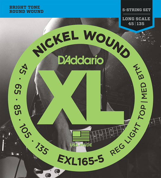 EXL165-5 [Nickel Wound 45-135]
