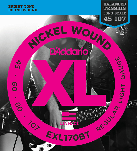 EXL170BT [Nickel Wound 45-107]