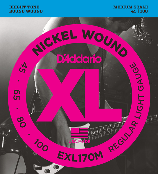 EXL170M [Nickel Wound 45-100]