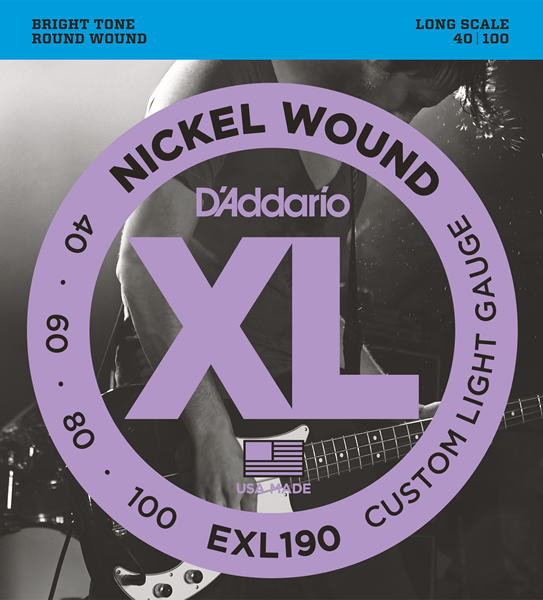 EXL190 [Nickel Wound 40-100]