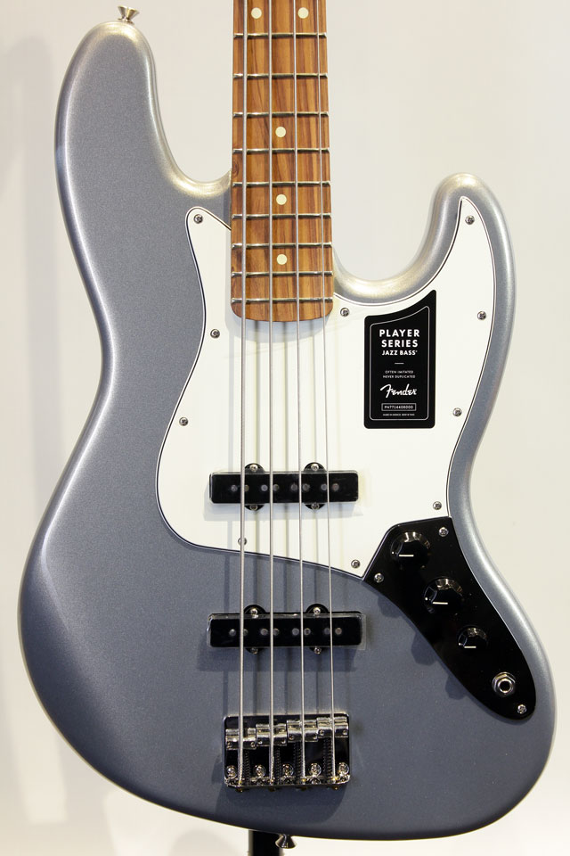 Mexico PLAYER JAZZ BASS (Silver)