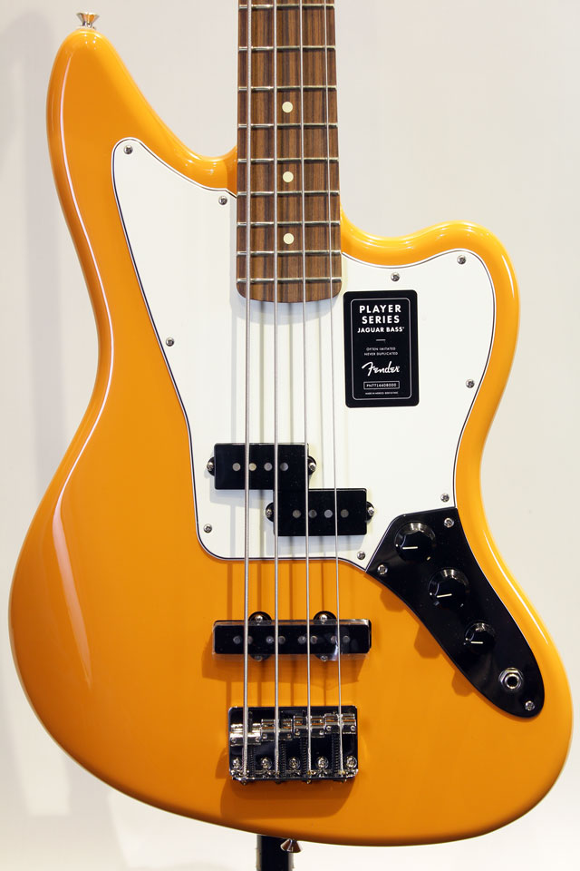 Mexico PLAYER JAGUAR BASS (Capri Orange)