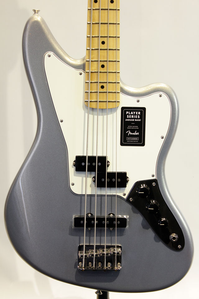 Mexico PLAYER JAGUAR BASS (Silver)