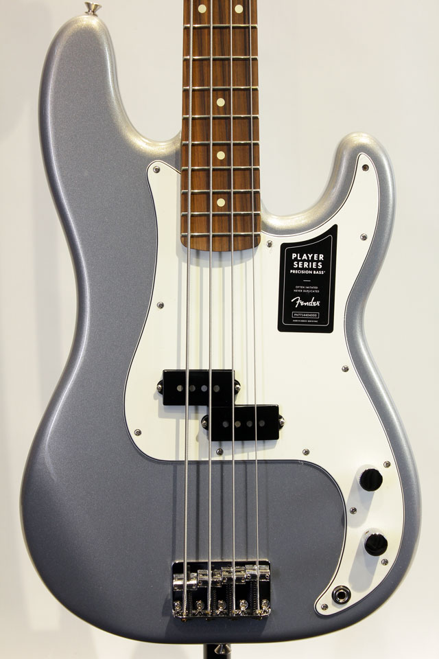 Mexico PLAYER Precision BASS (Silver)