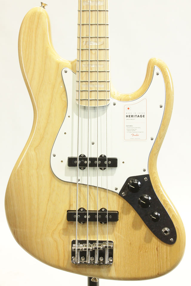 MADE IN JAPAN HERITAGE 70S JAZZ BASS(NAT)