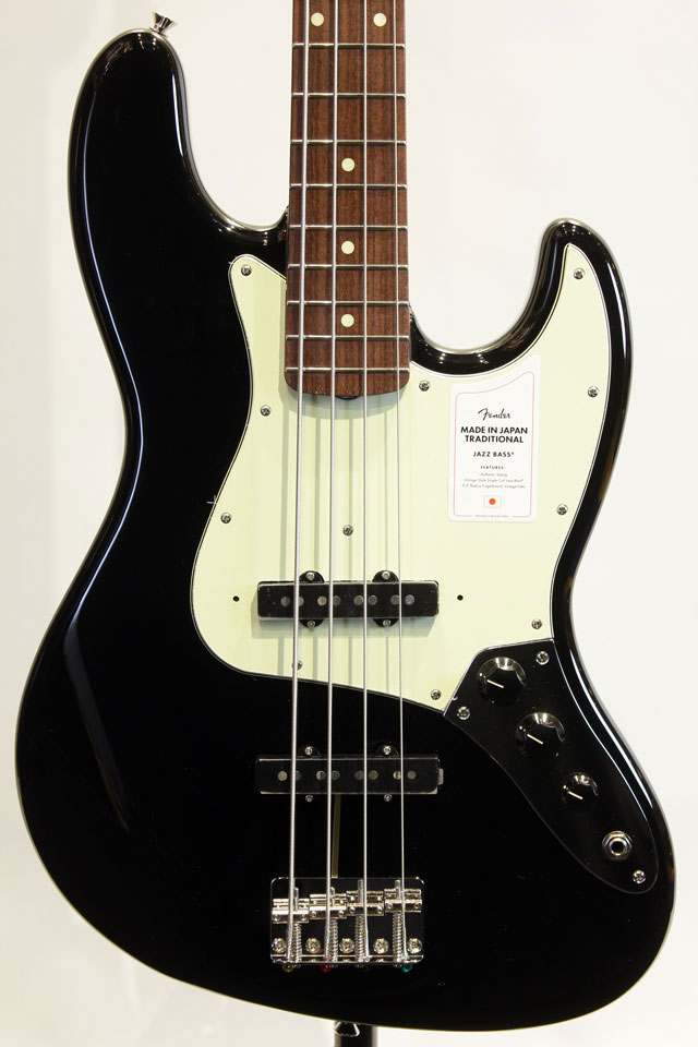 MADE IN JAPAN TRADITIONAL 60S JAZZ BASS (BLK)