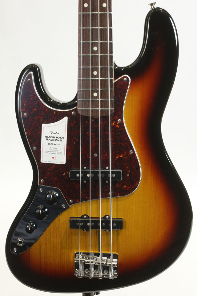 MADE IN JAPAN TRADITIONAL 60S JAZZ BASS Left Hand (3TS)