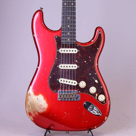 Limited Edition 60 Roasted Stratocaster Heavy Relic/Aged Candy Apple Red