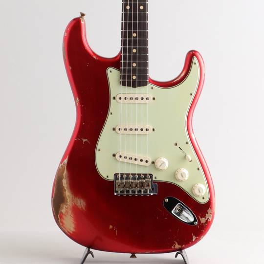 1962 Stratocaster Heavy Relic/Candy Apple Red【S/N:R101629】現地木材選定品