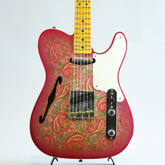 Ltd Roasted Pine Double Esquire Custom Journeyman Relic/Aged Pink Paisley【S/N:R97479】