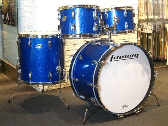 "1970' BigBeat Kit 22"" 12"" 13"" 16"" Sparkling Blue Pearl"
