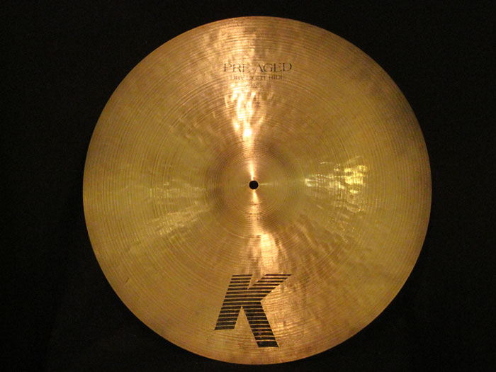"K Zildjian 20"" Pre-Aged Dry Light Ride 2,012g"