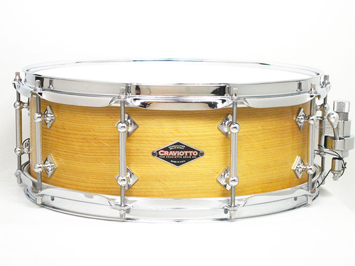 "2012' Solid Sitka Spruce Snare Drums 14""×5.5"""
