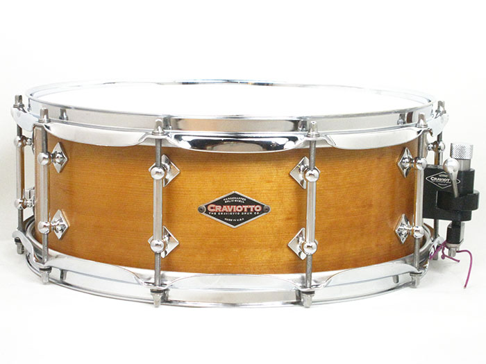 "2011' Solid Sitka Spruce Snare Drums 14""×5.5"""
