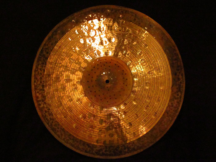 "【中古品】Byzance Jazz 22"" Symmetry Ride Ralph Peterson's signature cymbal 2,224g / B22SYR"