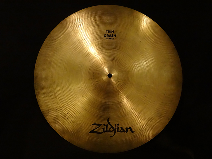 "【中古品】A 18"" Thin Crash 1303g"
