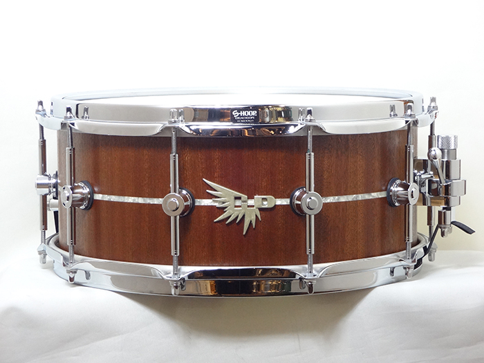 "【中古品】Archetype Solid Stave American Black Walnut 14"" x 6"" with Abalone Inlay HDW146S"
