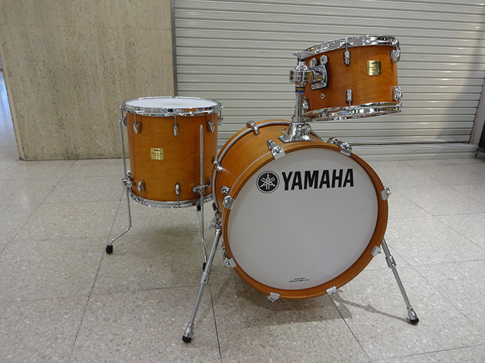 "【中古品・Made in Japan】Maple Custom Absolute Jazz Kit Vintage Natural 18"" 12"" 14"""